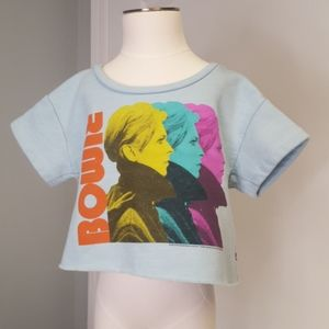 Trunk David Bowie Crop Sweatshirt